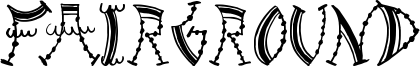 Fairground Font