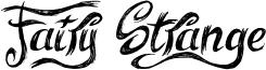 Fairy Strange Font
