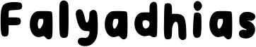 Falyadhias Font