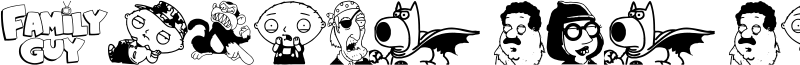 Family Guy Giggity Font