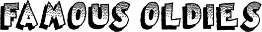 Famous Oldies Font