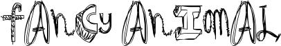 Fancy Animal Font