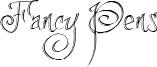 Fancy Pens Font