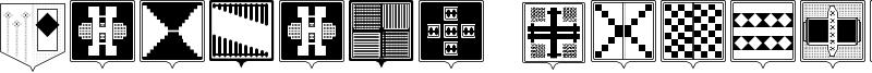 Fantasy Shields Font