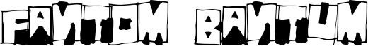Fantom Bantum Font