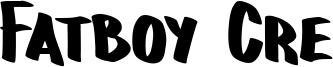 Fatboy Cre Font