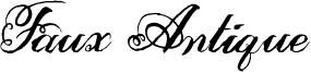 Faux Antique Font