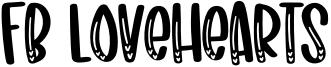 Fb Lovehearts Font