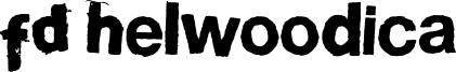 FD Helwoodica Font
