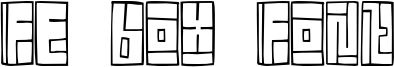 FE Box Font.otf