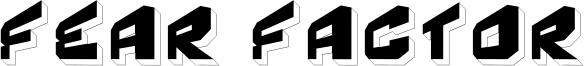 Fear Factor 3D.ttf