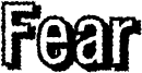 Fear Font