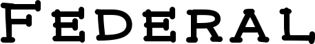 Federal Font
