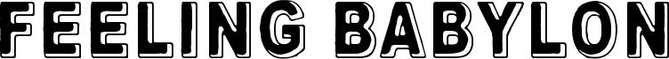 Feeling Babylon Font