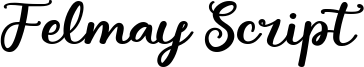 Felmay Script Font
