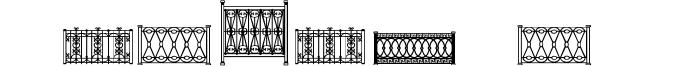 Fenced In LT Font