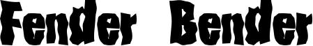 Fender Bender Font