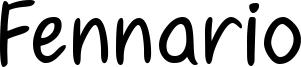 Fennario Font