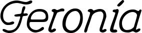 Feronia Font