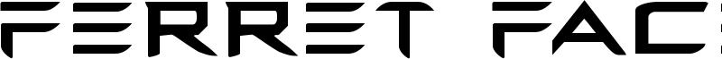 Ferret Face Font