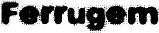 Ferrugem Font