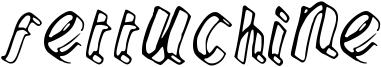 Fettuchine Font
