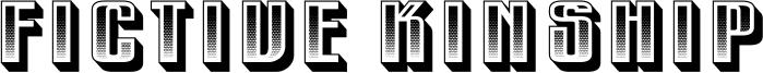 Fictive Kinship Font