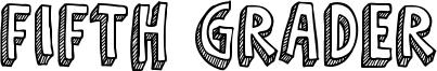 Fifth Grader Font