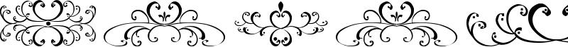 Filigrees and Ornaments ST Font