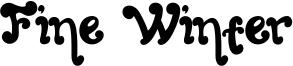 Fine Winter Font
