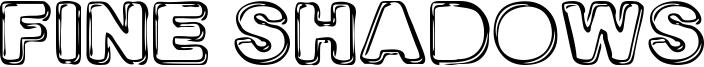 Fine Shadows Font