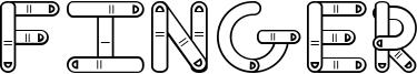 Finger Font