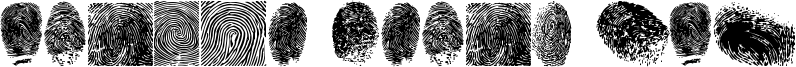 Finger Print TFB Font
