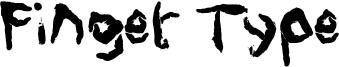 Finger Type Font