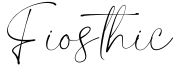 Fiosthic Font