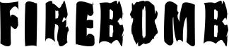 Firebomb Font
