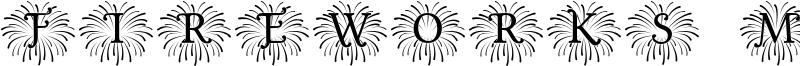Fireworks Mono Font