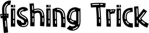 Fishing Trick Font