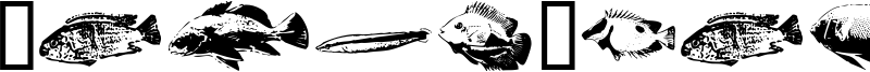 FishyPrint AOE Font