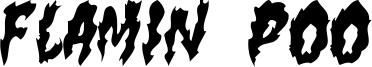 Flamin Poo Font