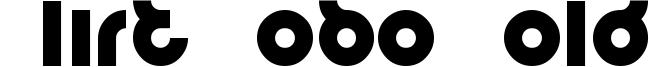 Flirt Bobo Bold Font