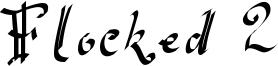 Flocked 2 Font