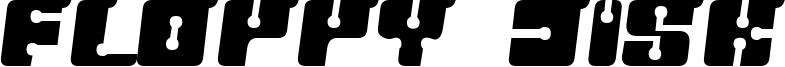 Floppy Disk Font