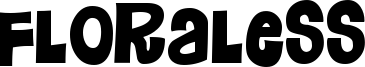 Floraless Font