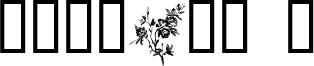 Florals 1 Font