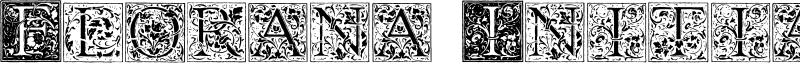 Florana Initials Font