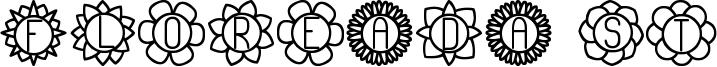 Floreada ST Font