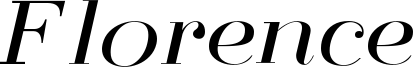 Florence Font