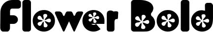 Flower Bold Font
