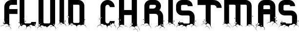 Fluid Christmas Font